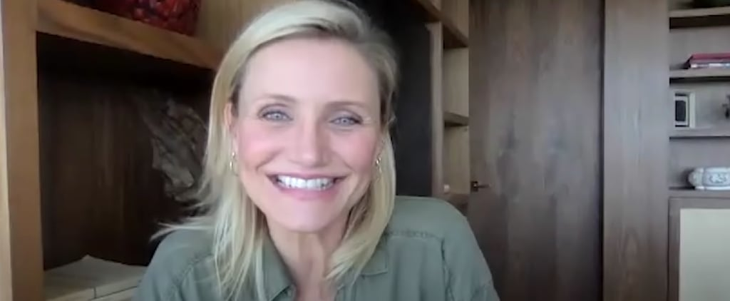 Cameron Diaz on Social Distancing With Her Daughter