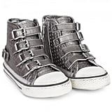 Ash Shoes Fanta Silver Star Hi-Tops