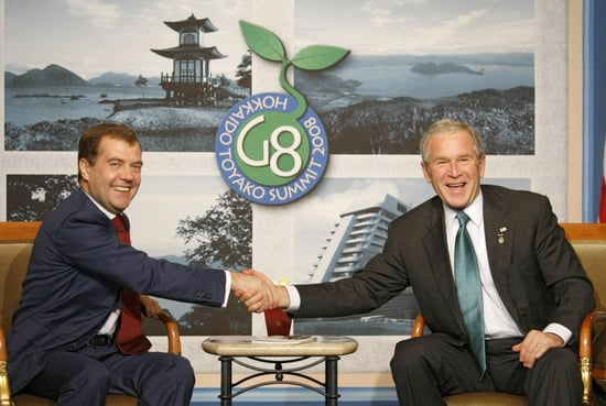 "Bush Says ""Yo Harper. . . Medvedev's a 'Smart Guy'"" Well Said?"