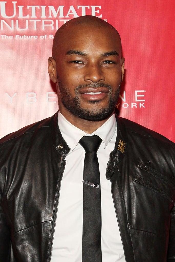 Tyson beckford suited up for the shape and men 39 s fitness for Tyson motors service hours