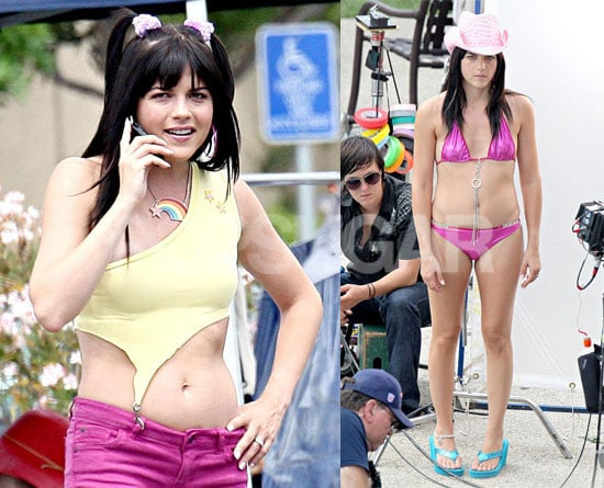 Photos of Selma Blair in a Bikini On Set of Kath and Kim