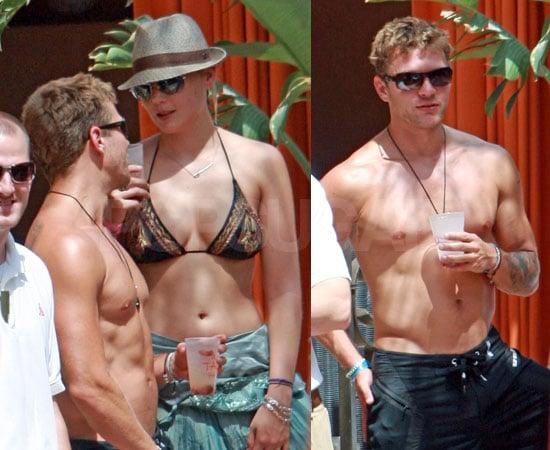 Ryan Strips Down For Abbie's Bikini Birthday