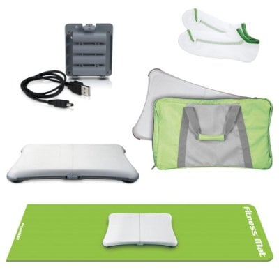 Get All Your Wii Fit Necessities in the 5-in-1 Fitness Bundle