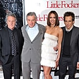 Pictures of Jessica Alba, Owen Wilson, Ben Stiller, Robert De Niro, and Dustin Hoffman at the Premiere of Little Fockers 2010-12-16 08:45:00