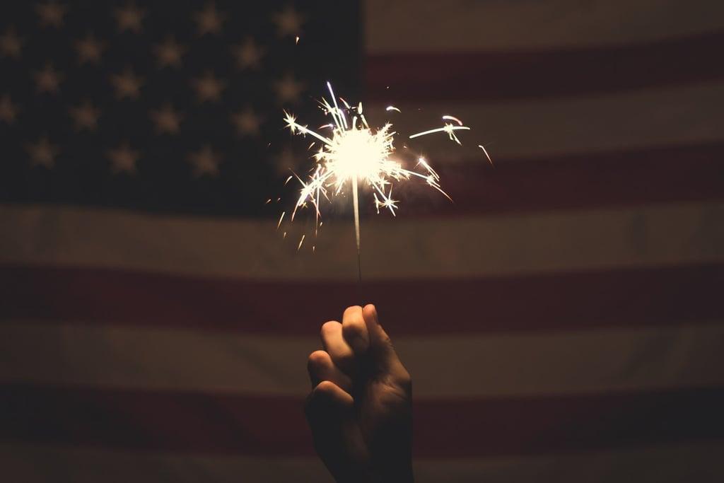 Light up some sparklers.