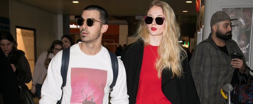 "Sophie Turner's Unique Engagement Ring Is Gorgeous With a Capital ""G"""