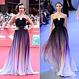 Who Wore It Best? Lily or the Model on the Elie Saab Haute Couture Spring '14 Runway?