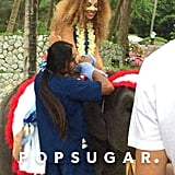 Beyonce and Jay Z in Thailand For the Holidays 2014