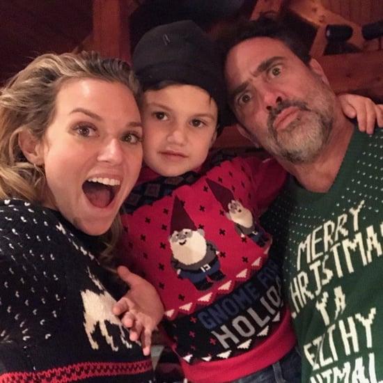 Jeffrey Dean Morgan and Hilarie Burton Family Pictures
