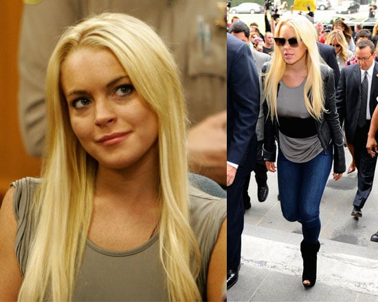 Pictures of Lindsay Lohan Cuffed and Bound For a LA Jail