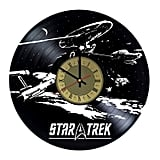Star Trek Starfleet Starships Vinyl Wall Clock