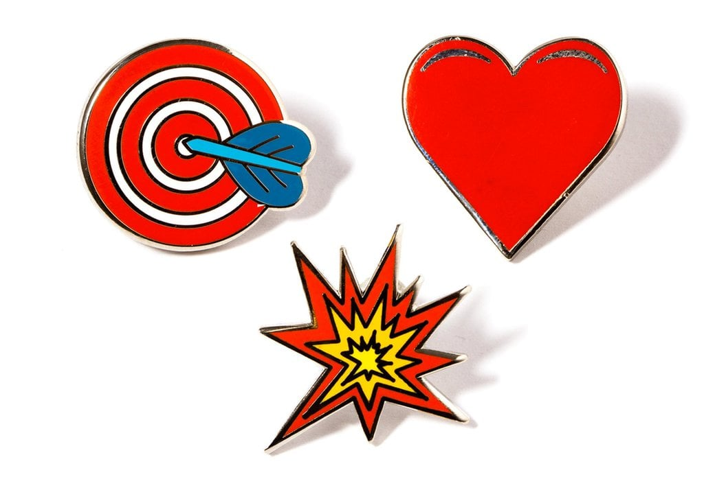 Pintrill's Valentine's Day Pin Pack
