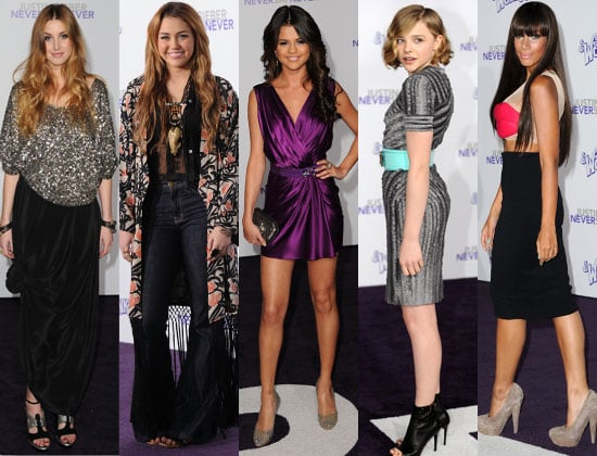 Pictures of Celebs at Justin Bieber Never Say Never Premiere in LA, Leona Lewis, Whitney Port, Will Smith, Selena Gomez