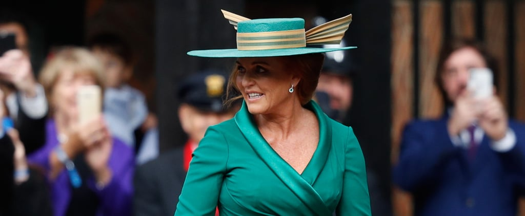 Theodora Williams Asking Sarah Ferguson If She's the Queen