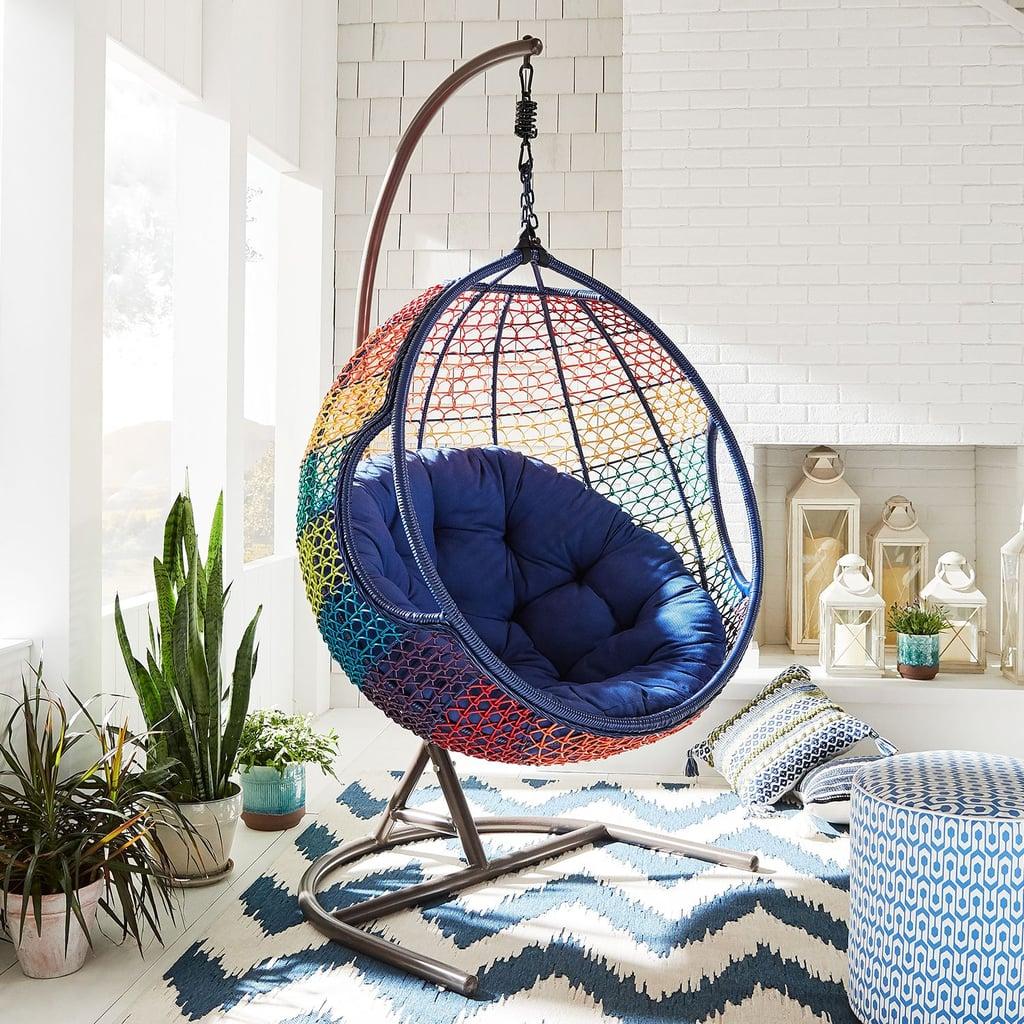 Swingasan Rainbow Ombré Hanging Chair