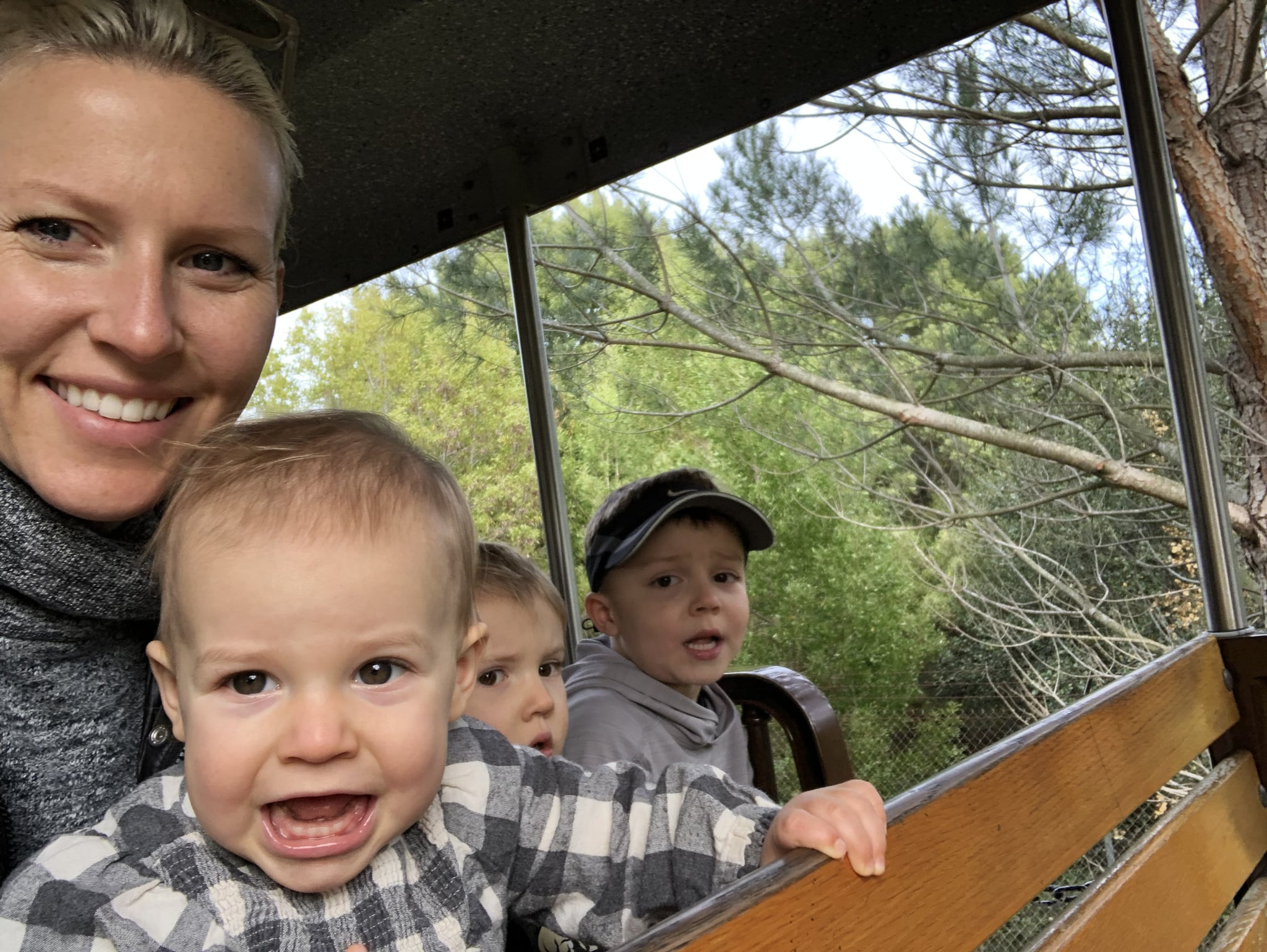 Young Kids Are Being Shuffled From One Activity To Another In >> What It S Like Having Three Kids Under 5 Popsugar Family