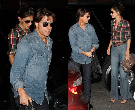 Pictures of Katie Holmes and Tom Cruise in New York