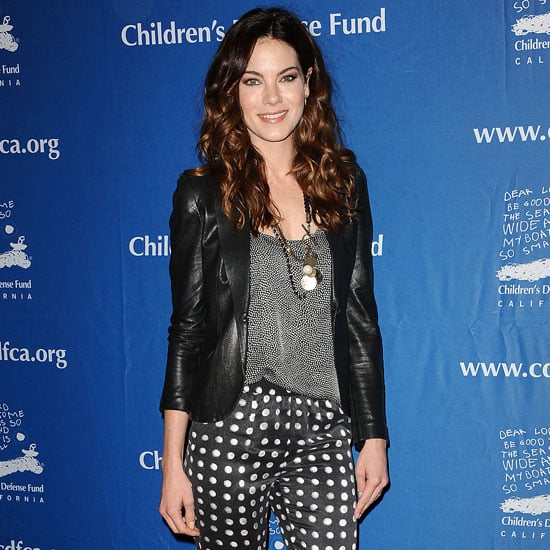 Michelle Monaghan Wearing Polka-Dot Pants