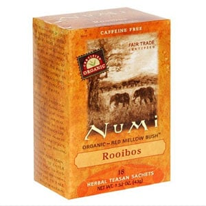 Nutritional and Health Information on Rooibus Red Tea
