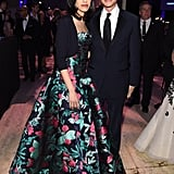 And Stands With Confidence When She's Wearing the Most Stunning Ballgown in the Room
