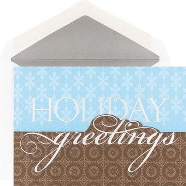 Holiday Card Guide:  Retro Greetings Holiday Card Set