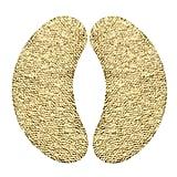Wander Beauty's Baggage Claim Gold Eye Masks