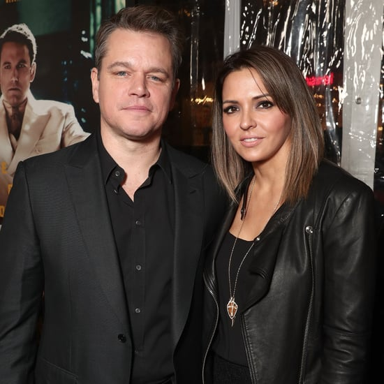 Matt Damon and Wife at Live by Night Premiere January 2017