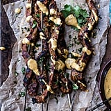 Indian-Style Beef Satay