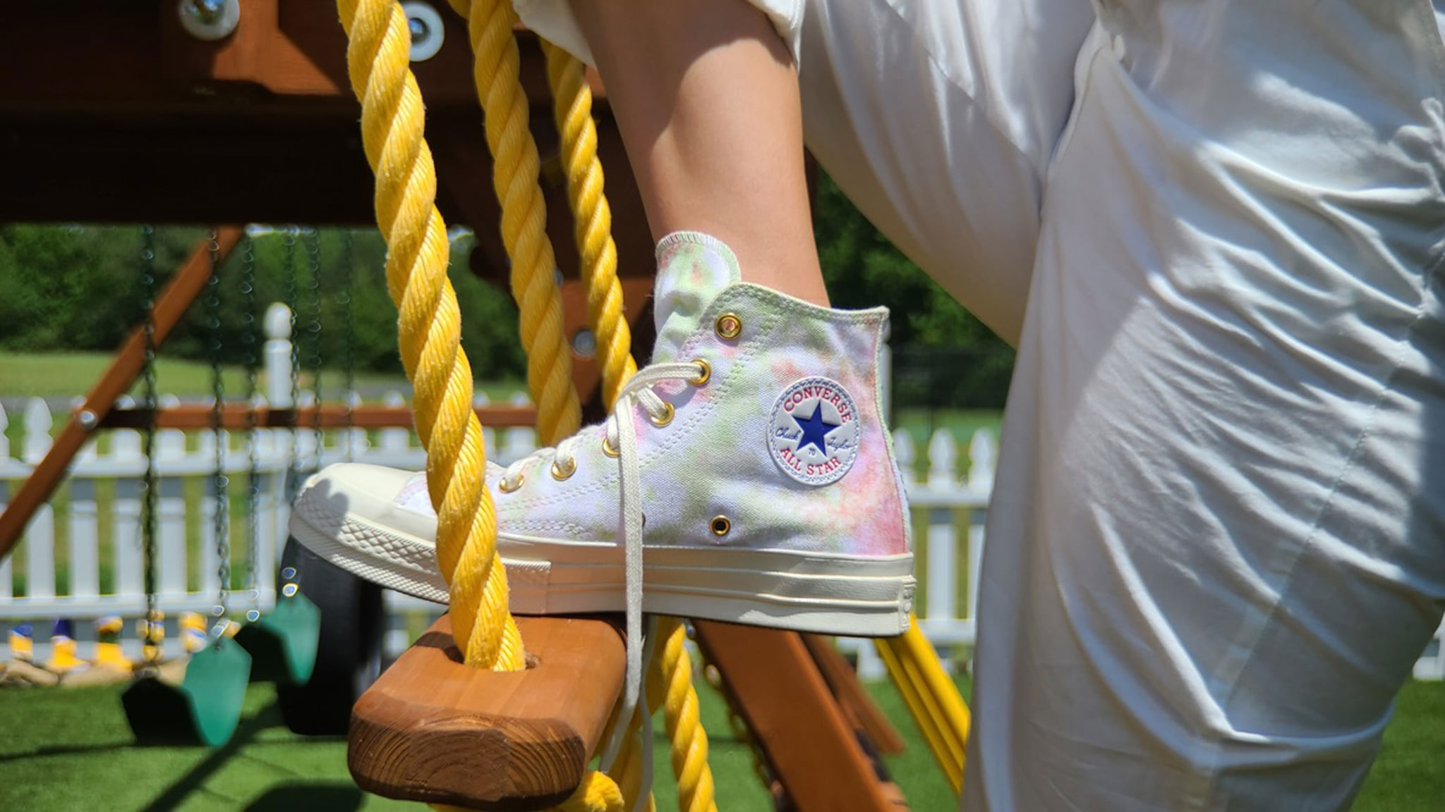Millie Bobby Brown Dropped A Tie Dye Converse Collection Popsugar Fashion Uk Photo 4