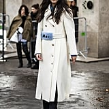 Winter Outfit Idea: A Chic White Coat