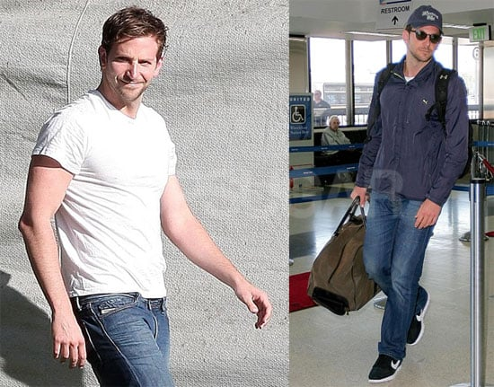 Photos of Bradley Cooper at LAX 2009-07-13 16:30:00