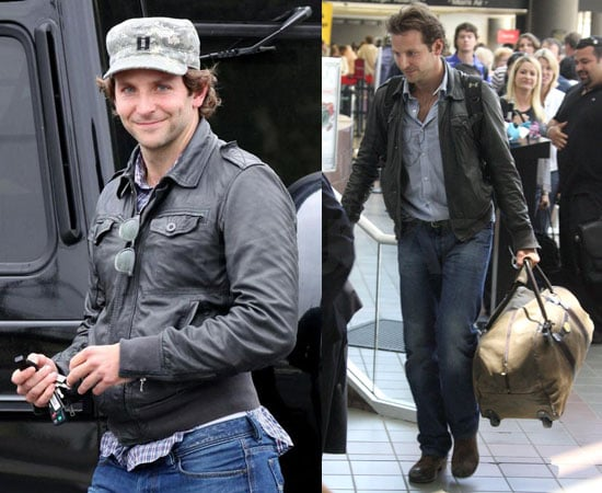 Photos of Bradley Cooper Shopping for Food in LA