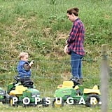 Kate Middleton and Prince George at the Park 2015 Pictures