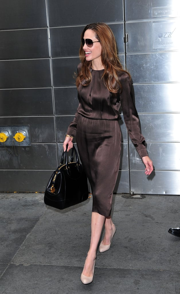 You Can Wear Brown and Black Together —Just Coordinate With Neutral Pumps