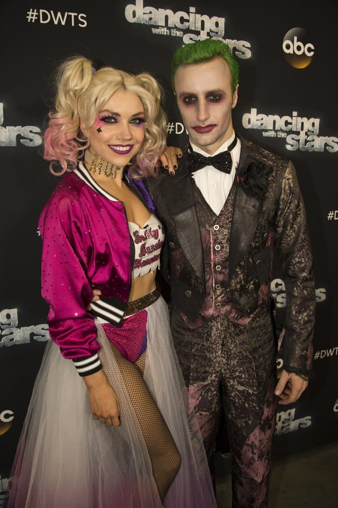 Jenna Johnson and James Hinchcliffe as Harley Quinn and The Joker