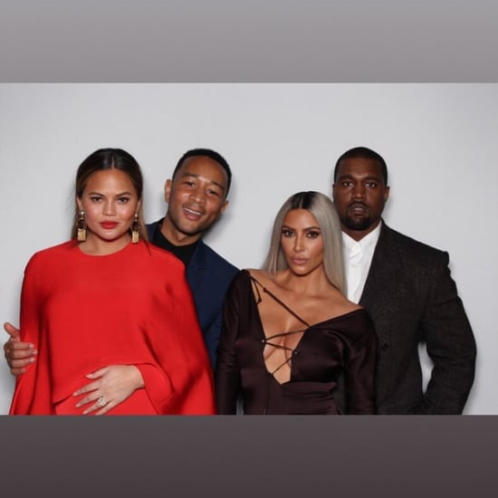 Kim Kardashian and Kanye West at Ellen's Birthday Party 2018
