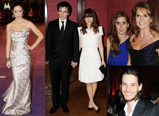 Photos From The Young Victoria UK Premiere and Afterparty including Emily Blunt, Rupert Friend, Keira Knightley