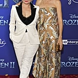 Martha Plimpton and Ever Carradine at the Frozen 2 Premiere in Los Angeles