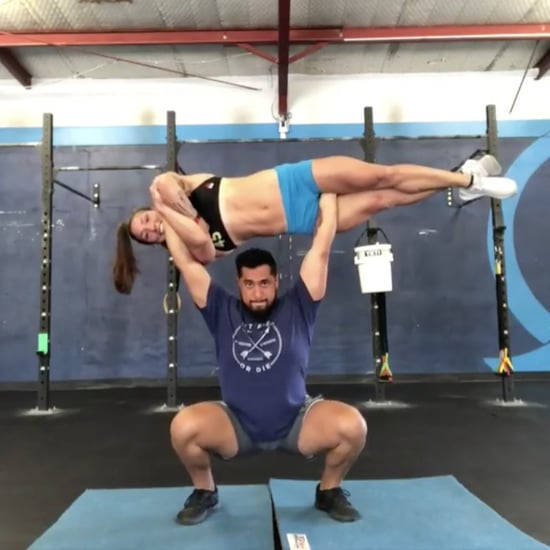 CrossFit Couple Lifting Bodyweight Video