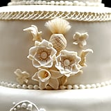 The theme of Kate's wedding vision board was 'The Language of Flowers'. From the beginning of the planning process, the duchess-to-be chose the Victorian practice of imbuing meaning to every single bloom, and so the embroidery on her dress, floral frosting on the cake and fresh flowers were all chosen accordingly.