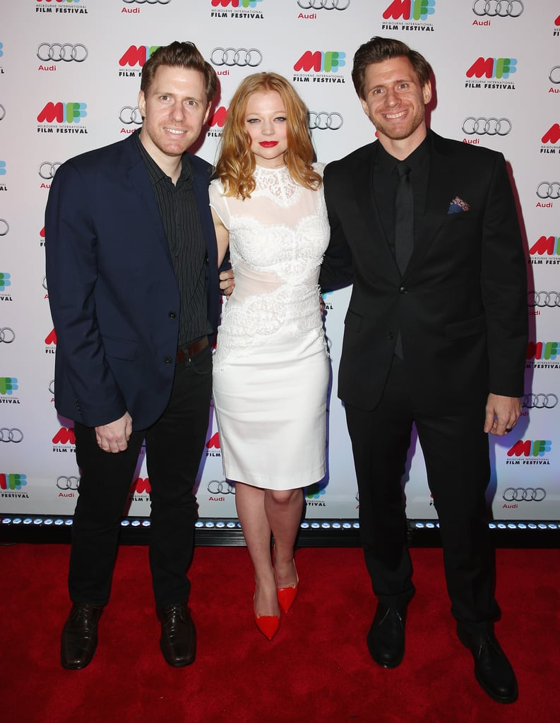Sarah Snook and the Spierig Brothers