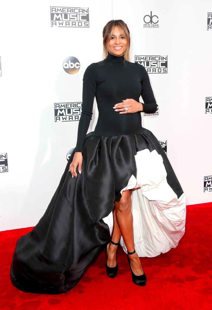 Ciara's Dress at the 2016 American Music Awards