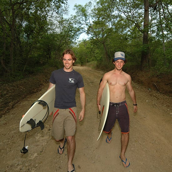 Hot Guys With Surfboards