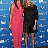 Sandra Bullock and Zoe Kazan
