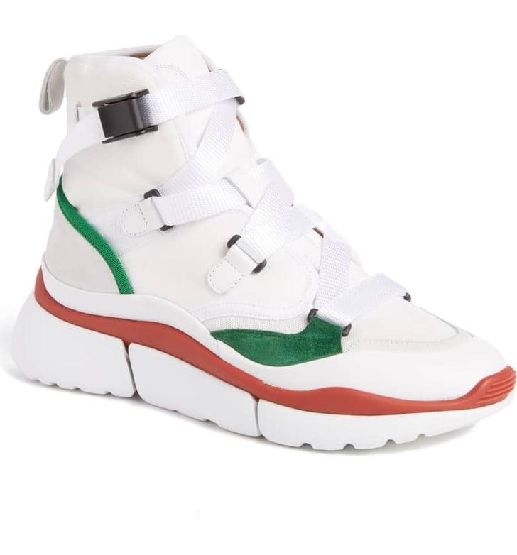 Chloe Sonnie High Top Sneakers