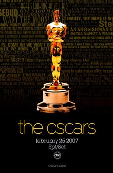 Announcing the 2007 Oscar Nominees!