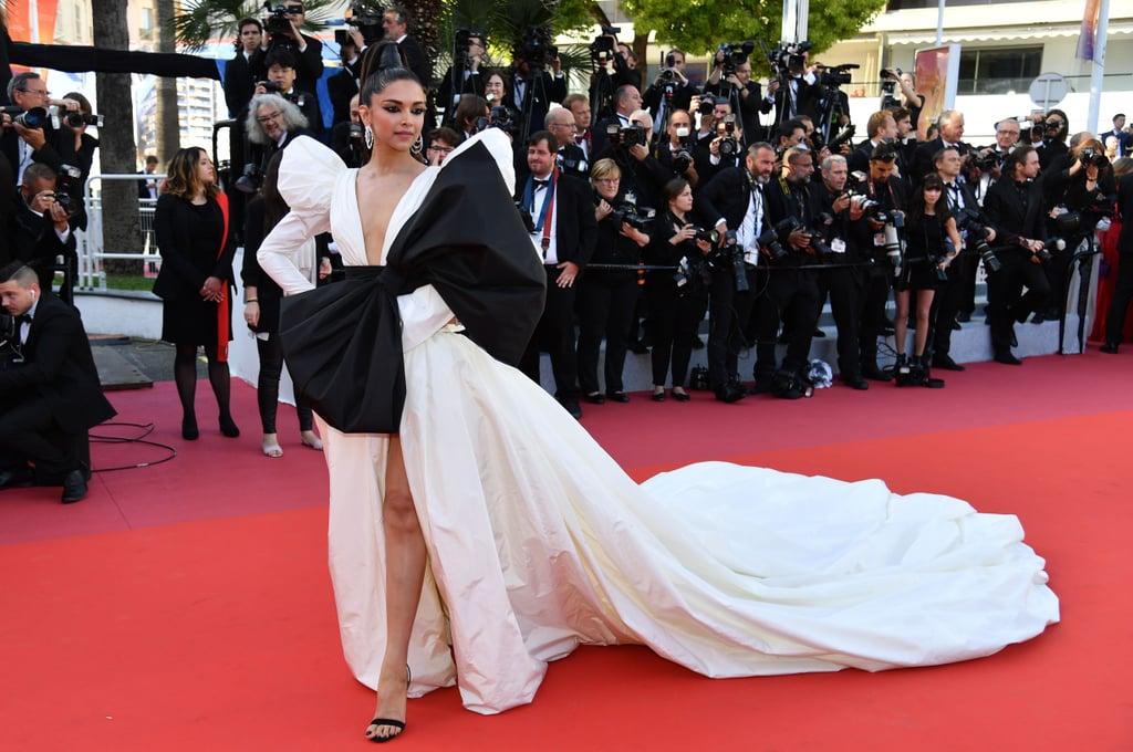 Deepika Padukone White Dress at Cannes 2019   POPSUGAR ...