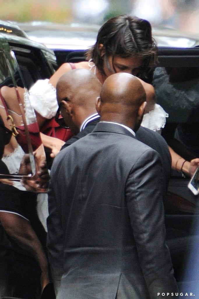 "Katie Holmes and Jamie Foxx's relationship has been plagued with breakup rumors as of late, but from the looks of it, they're still going strong. On Monday, the couple was spotted grabbing dinner at TAO restaurant in NYC. Jamie showed off his courtly manners as he helped Katie get out of the car, and they made their way into the restaurant.  Ahead of  the Fourth of July, it was reported that Katie and Jamie had called it quits due to ""trust issues."" However, Katie's publicist later shot down those rumors by releasing a statement to People, calling the reports ""100 percent untrue."" Katie and Jamie have been quietly dating since 2013, and they're clearly set on making things work.       Related:                                                                                                           A Timeline of Katie Holmes and Jamie Foxx's Undercover Love"