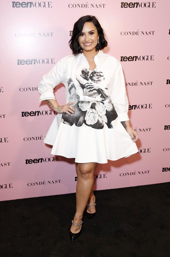 Demi Lovato Spoke About Her Year Following Hospitalization