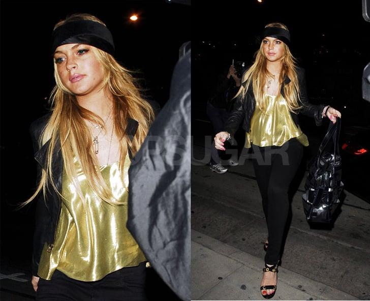 Lindsay Caught Up in Coke Scandal